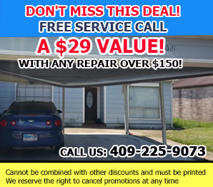 Garage Door Repair Galveston Coupon - Download Now!